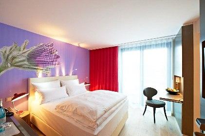 Pinkes kleines Zimmer
