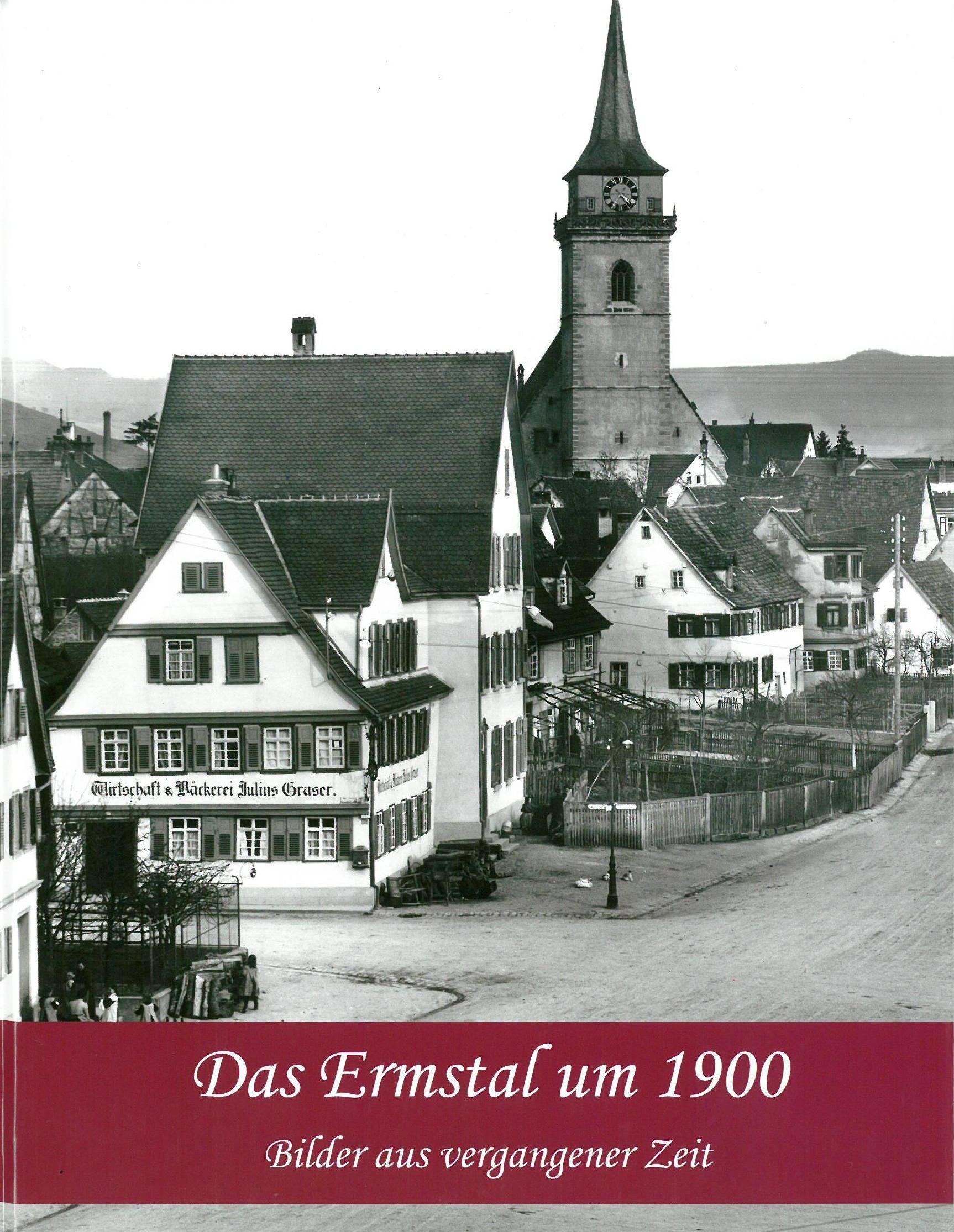 Bildband Ermstal um 1900 Umschlagseite