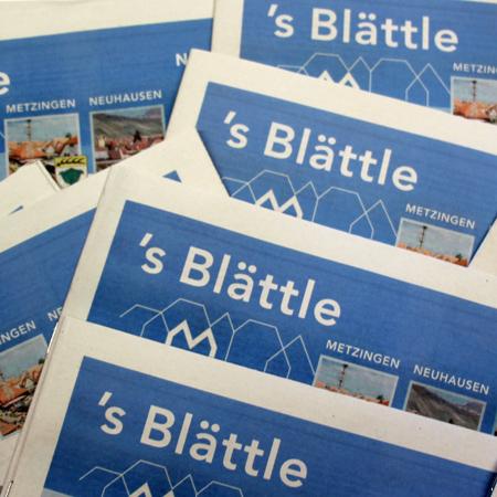 Amtsblatt 's Blättle