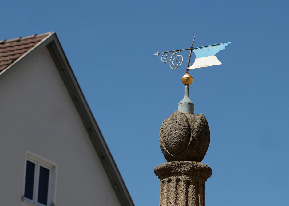 Spitze Rathausbrunnen