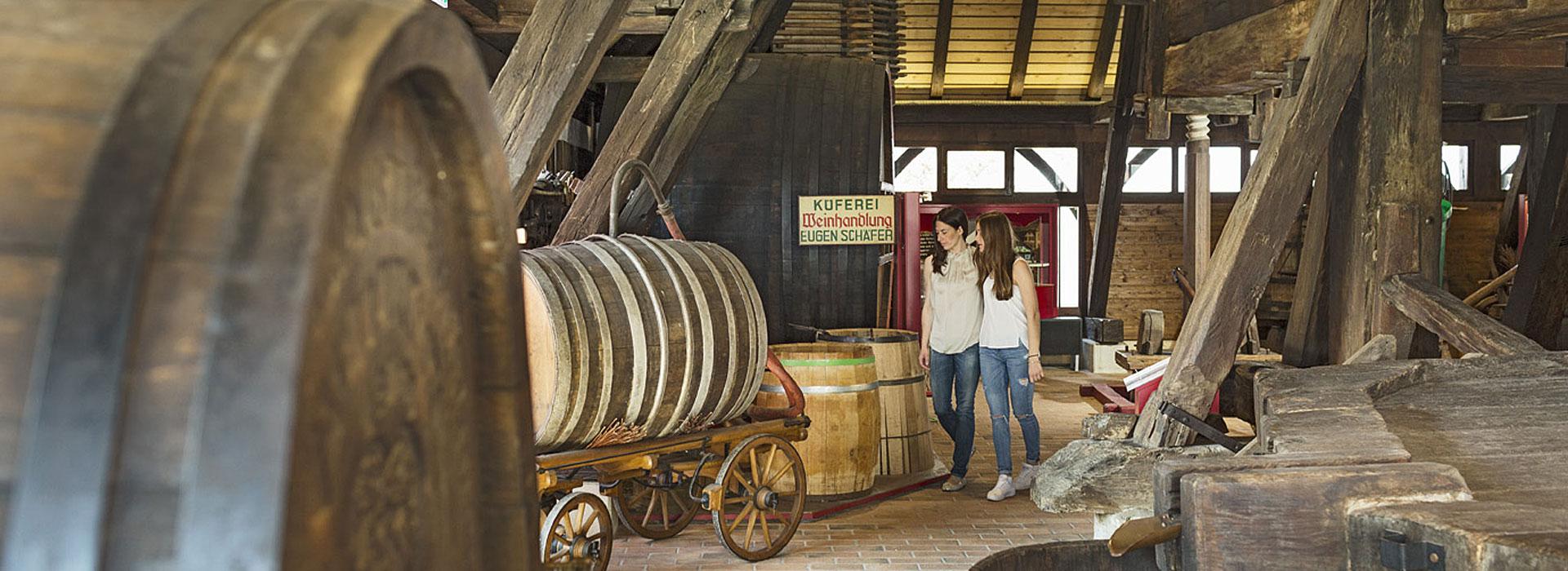 Weinbaumuseum Metzingen innen