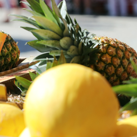 Früchte auf dem Markt