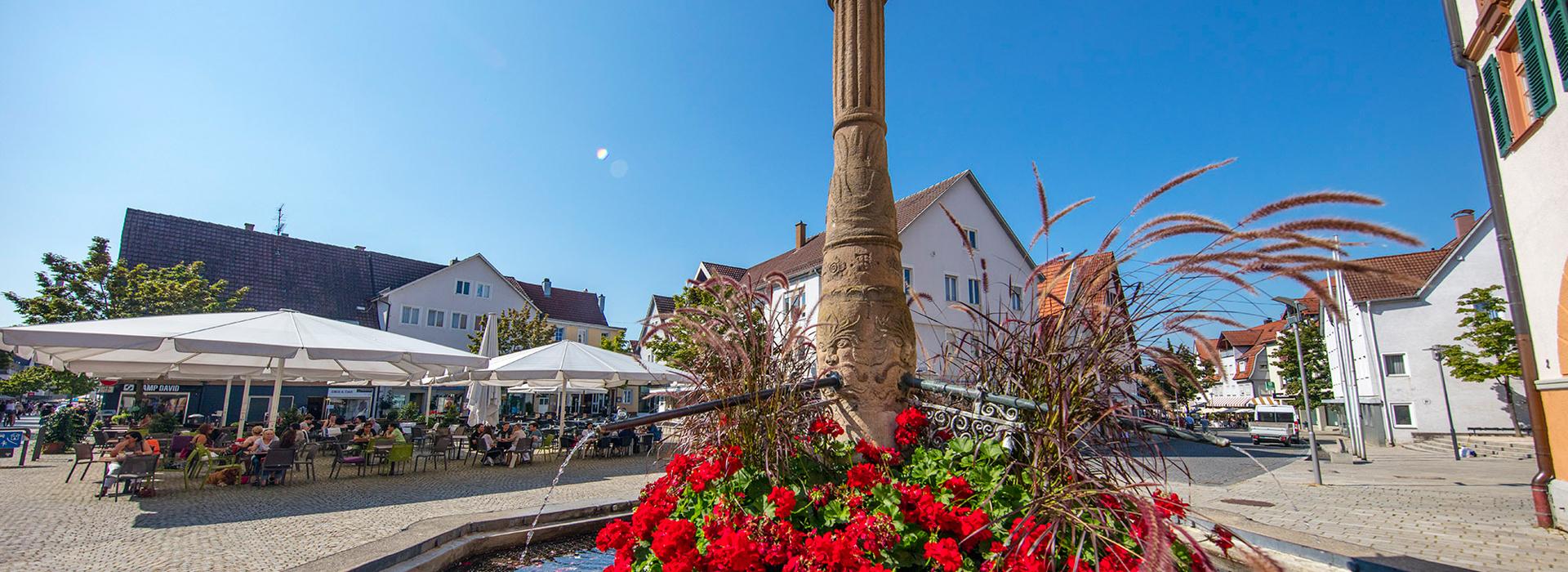 Marktplatz in Metzingen