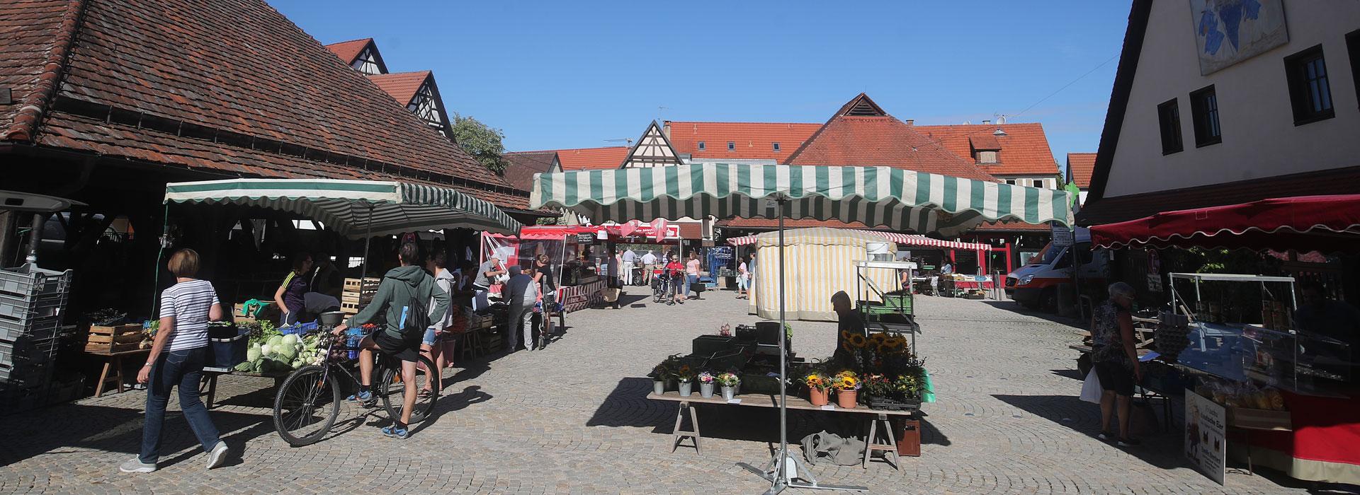 Marktleben in Metzingen