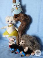 Figuren aus dem Puppentheater