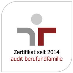 Audit-Logo der Stadt Metzingen