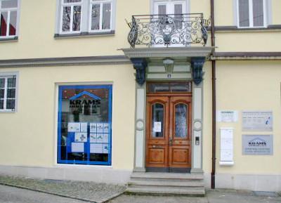 Büro KRAMS Immobilien in Metzingen