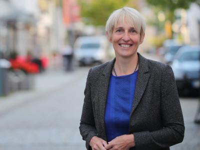 Erste Bürgermeisterin Jacqueline Lohde