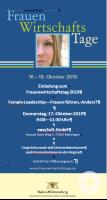 Plakat Frauenwirtschaftstag 2019