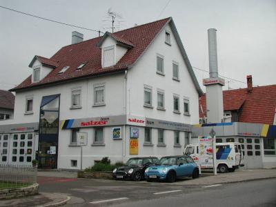 Salzer Karosserie und Lackierfachbetrieb, Malerwerkstätte