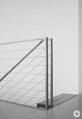 Treppengeländer in Stahl