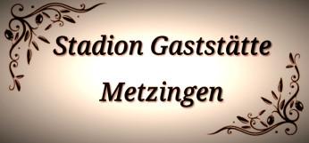 Stadion Gaststätte Metzingen Logo