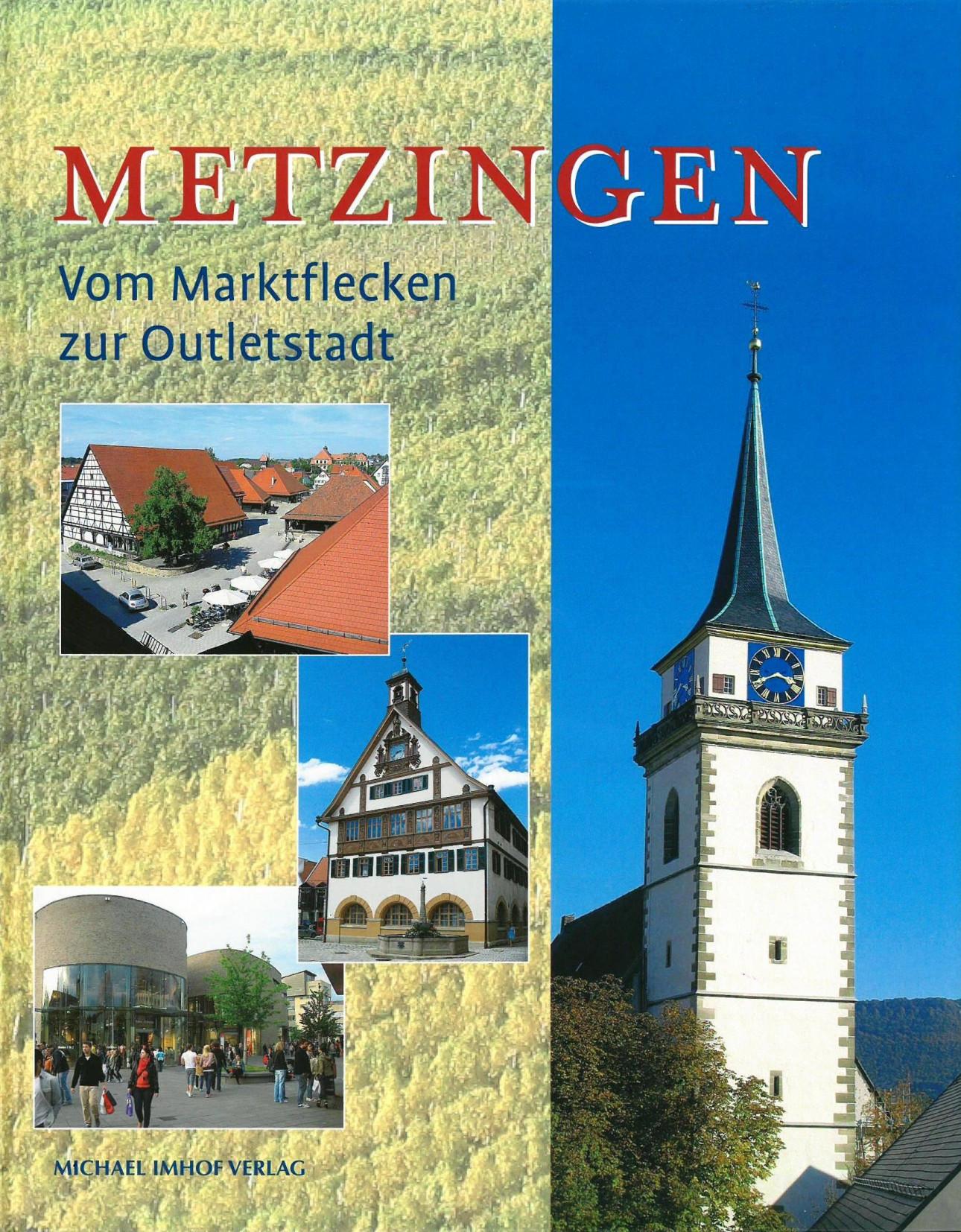Stadtgeschichte Metzingen Umschlagseite