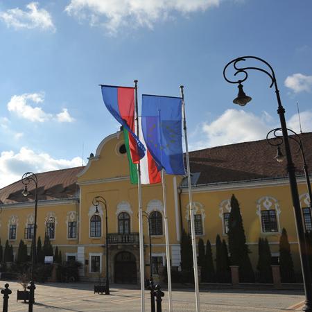 Altes Komitatshaus in Nagykálló
