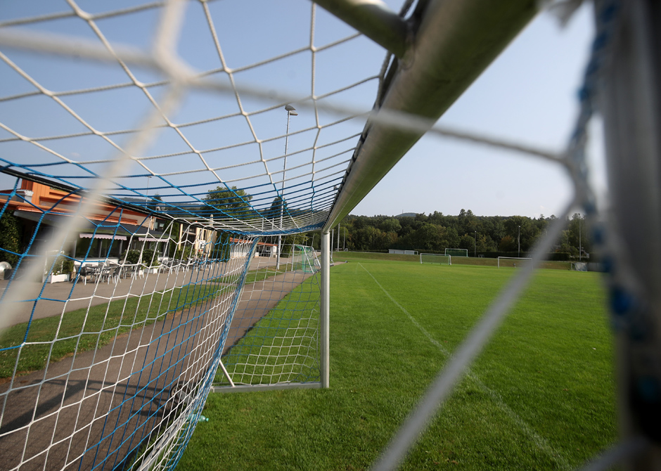 Tor im Stadion