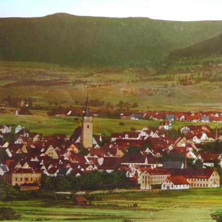 Alte Ansicht von Metzingen