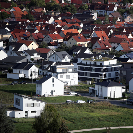 Häuser in Metzingen