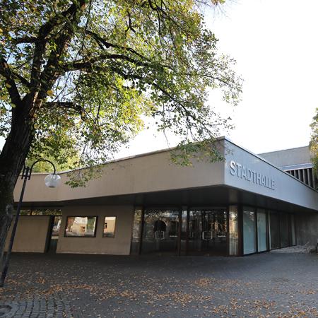 Stadthalle Metzingen von außen