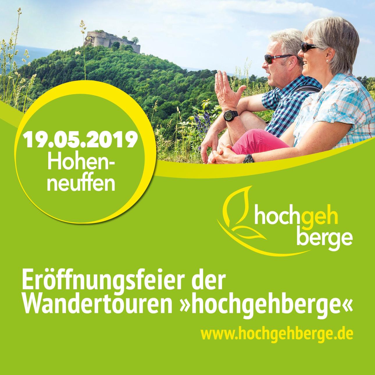 "Eröffnungsfeier der Wandertouren ""hochgehberge"""