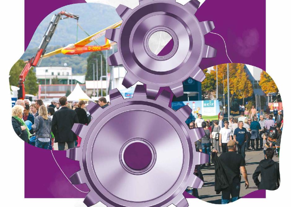 Gewerbe- und Industrieschau Plakat 2019