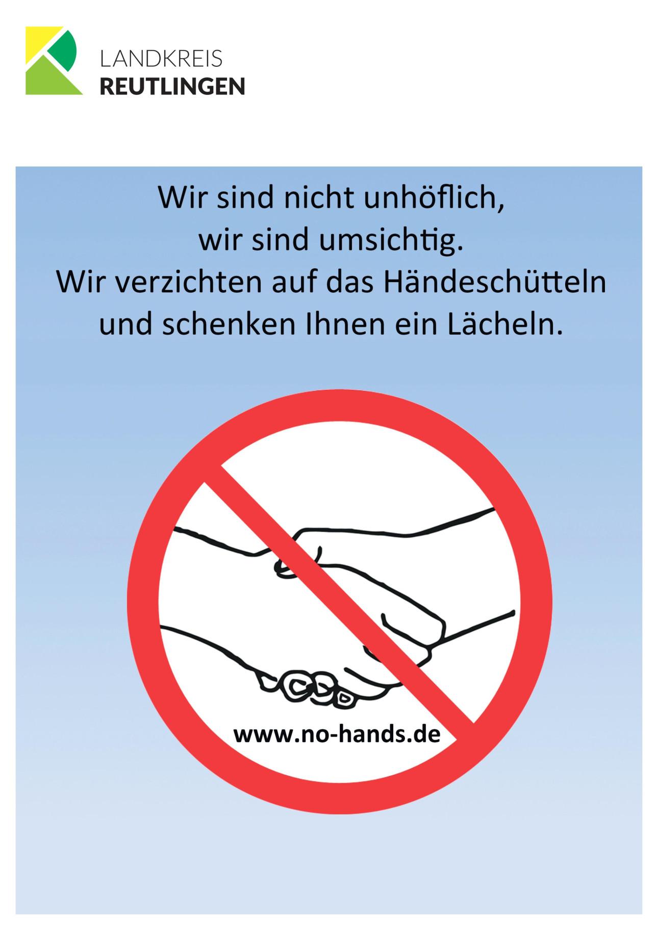 Plakat Hände