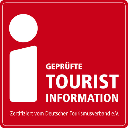 i Marke Lofo für die TouristInformation
