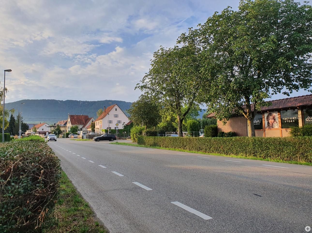 Ermsstraße gesperrt