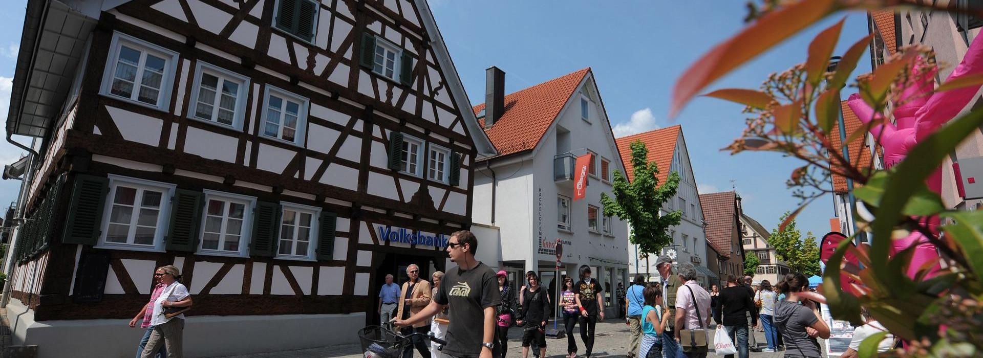 Innen-Stadt von Metzingen