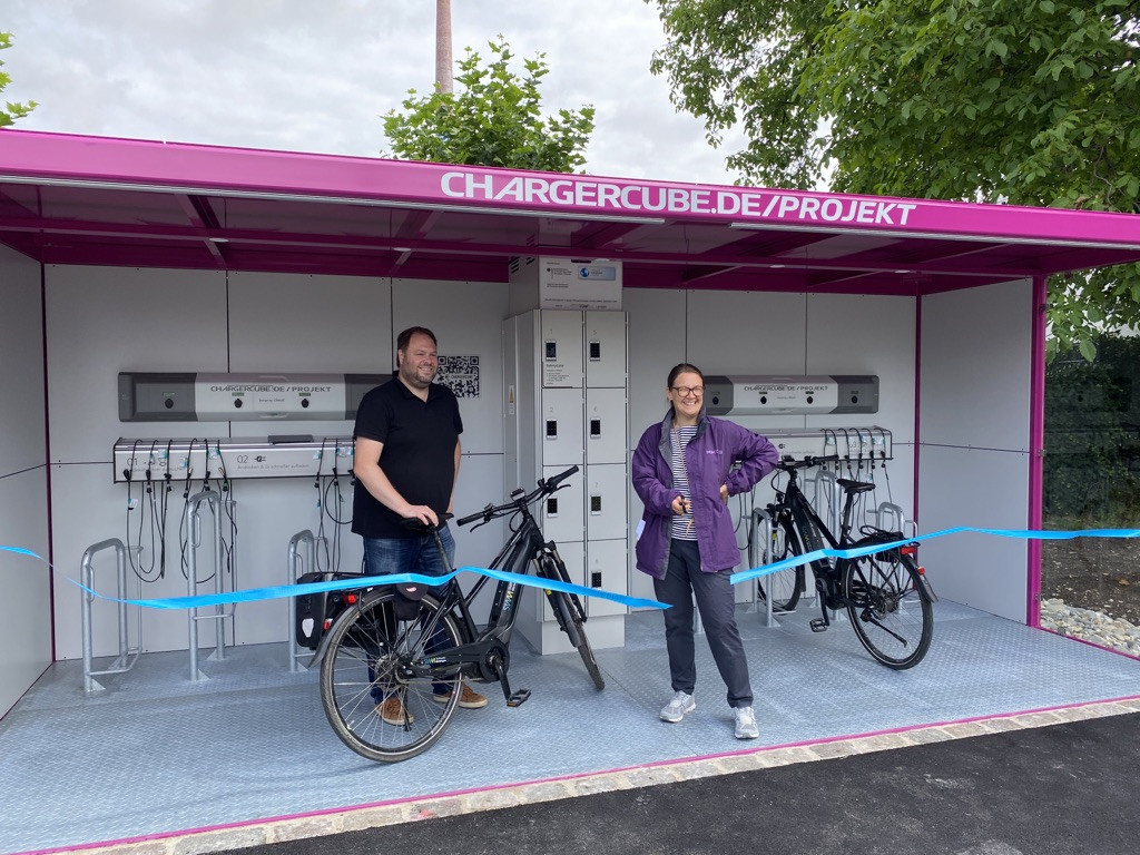 Charger Cube Ladestation in Metzingen
